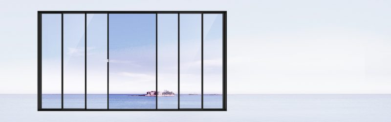 cửa sổ xếp trượt hopo